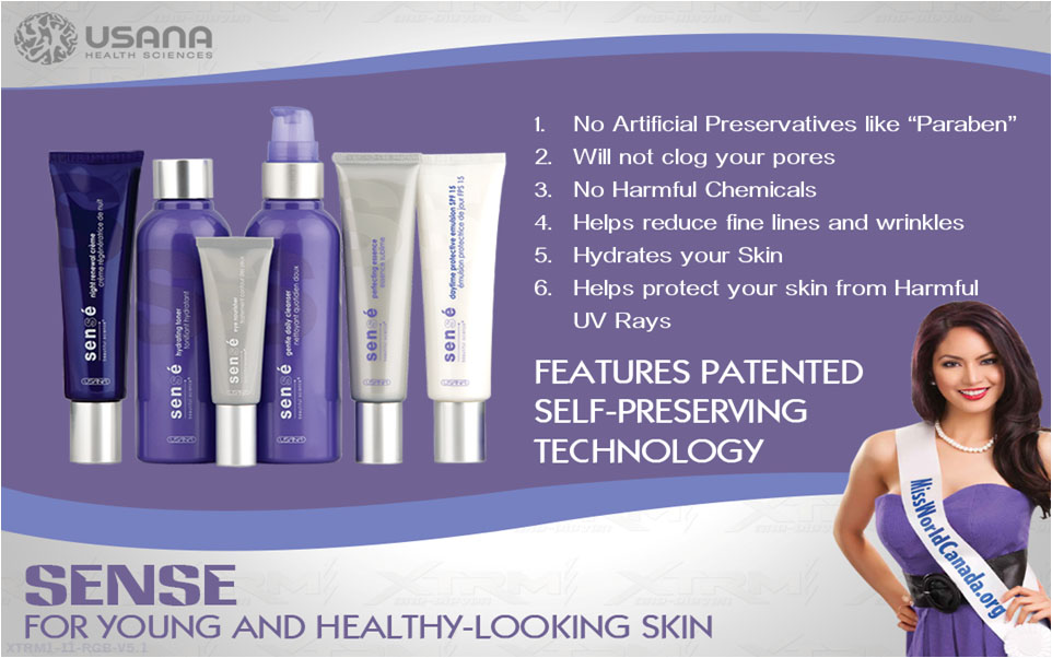 Usana beauty healthy skin care all in one products